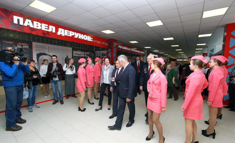 Музей и зал для семинаров: в школе №12 открыли региональный профцентр