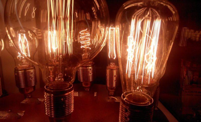 Городские огни: как в Рыбинск пришли лампы с металлической проволокой