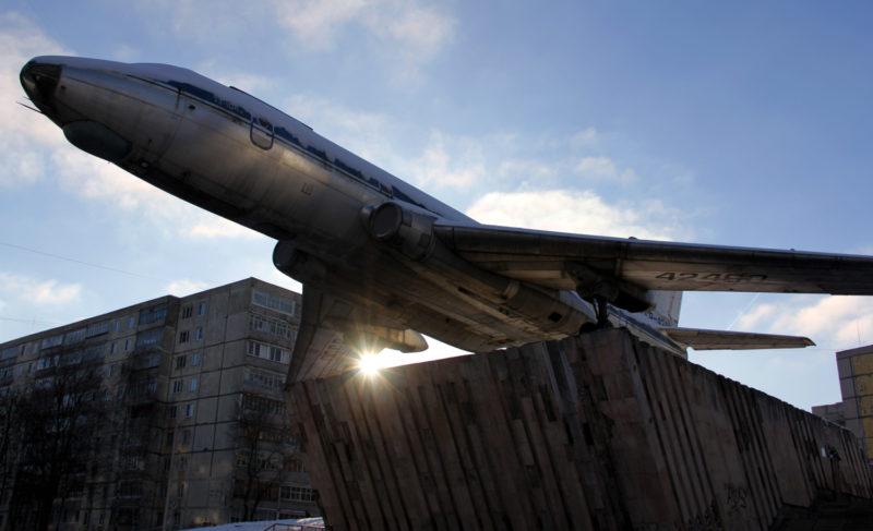 Подлинная история самолёта ТУ-104А на Скомороховой горе