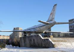 Самолет до реставрации