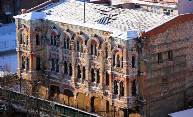 Богатое прошлое, бесславное настоящее и туманное будущее «Мавританского замка»