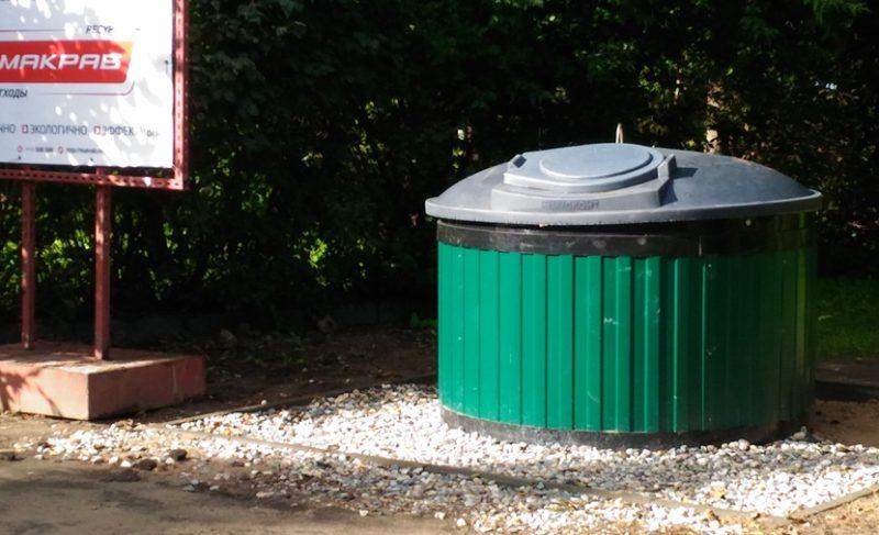 На набережной в Рыбинске появились новые площадки для мусора