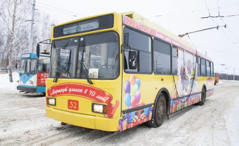 Рыбинский троллейбус: маршрут длиною в 40 лет