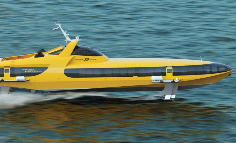 «Вымпел» возрождает легендарные суда на подводных крыльях