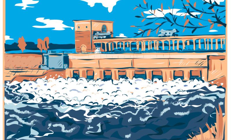 Что такое паводок, и как в это время работает ГЭС