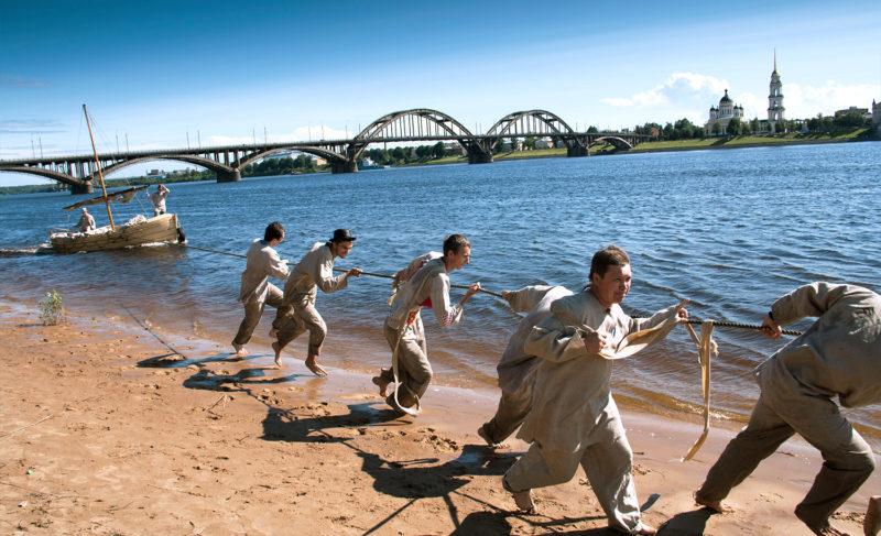 Рубище и гружёное судно: в День города рыбинцев ждёт реконструкция бурлацкой жизни