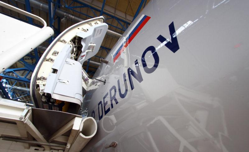Самолёт с гордым именем: новый Superjet 100 назвали в честь Павла Дерунова
