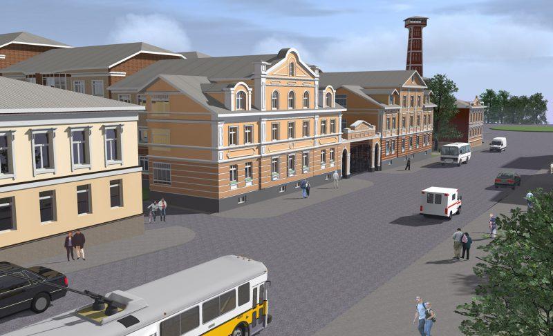 В Рыбинске возле пожарной каланчи вырастут жилые дома