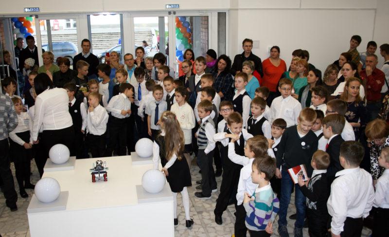 Посвящение в «кванторианцы». В Рыбинске открылся детский технопарк
