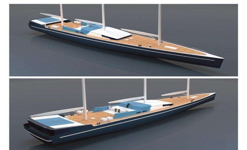 Конюхов и дизайнер Мерфин Оуэн рассказали, какой будет яхта для новых рекордов. Её построят на «Вымпеле»