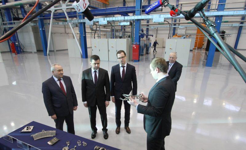 Старт акселерационной программы на «Сатурне» и рост зарплат на «Верфи братьев Нобель»: глава региона посетил Рыбинск