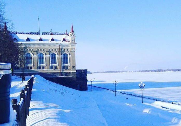 Зимний Рыбинск в Инстаграме. Фотоподборка