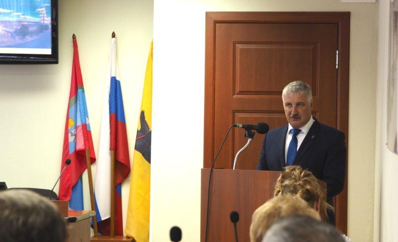 «Город способен платить по своим обязательствам». Глава Рыбинска выступил перед депутатами с отчётом о проделанной работе