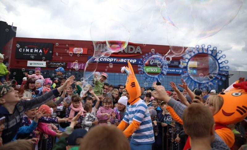 Герои мультфильмов, фестиваль красок и конкурс красоты. «Виконда» организовала большой праздник в честь своего дня рождения