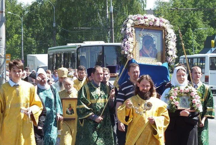 Рыбинск включили в маршрут Казанского крестного хода