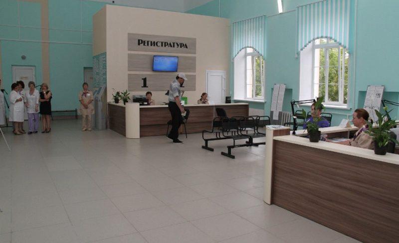 В поликлинике №3 имени Семашко модернизировали регистратуру