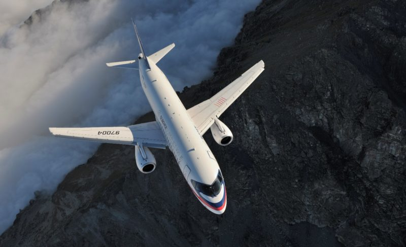 Перуанская авиакомпания намерена купить десять самолётов Sukhoi Superjet-100