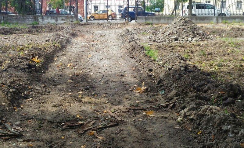 Грунтовые дорожки и фонари под старину: Лозовский парк ожидает обновление