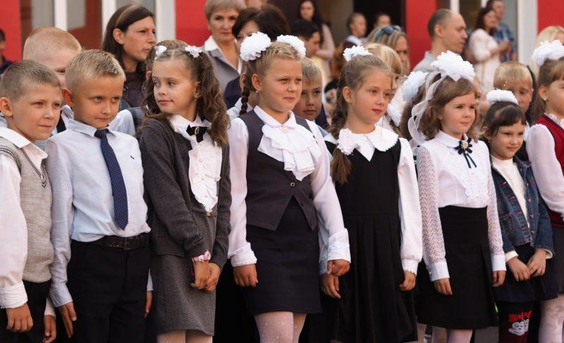 Здравствуй, школа! В Рыбинске прошли торжественные линейки. Фоторепортаж
