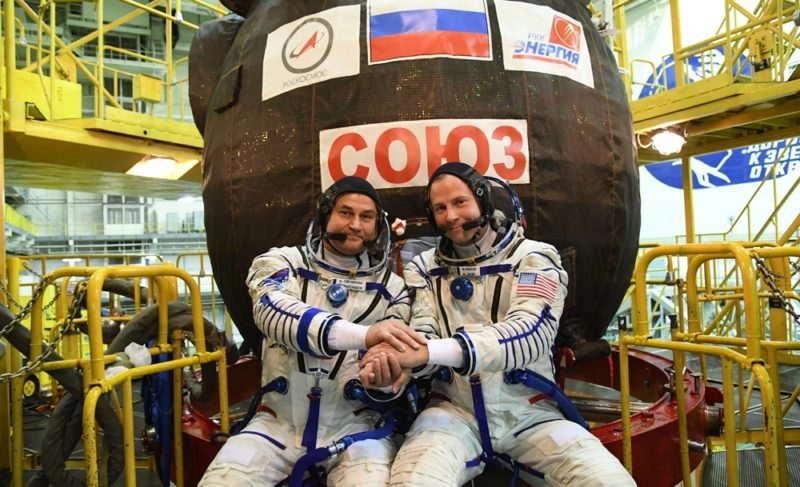 Алексей Овчинин рассказал об аварии корабля «Союз МС-10»
