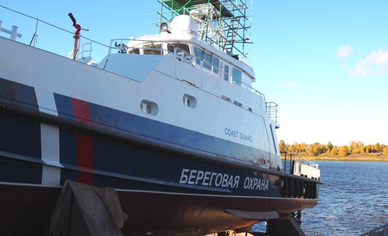 Из катеров — в корабли. «Вымпел» спустил на воду обновлённый «Ламантин»