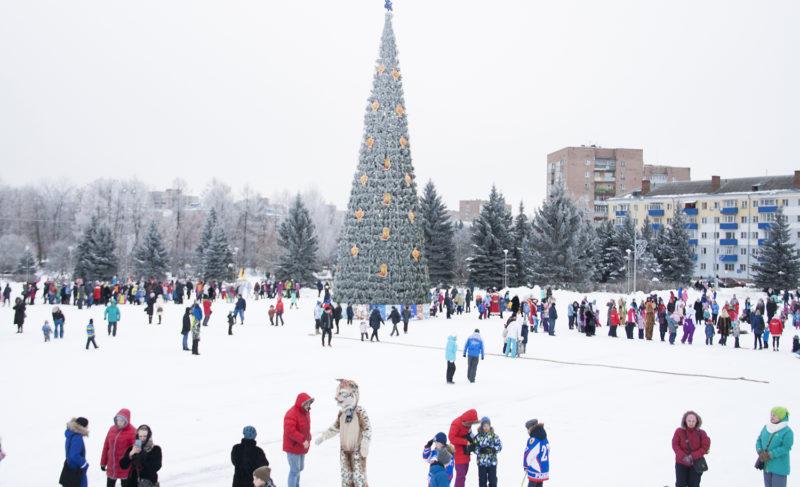 Физкульт-мороз: спортивная часть предновогоднего «НаШествия» в фоторепортаже Александры Кузнецовой