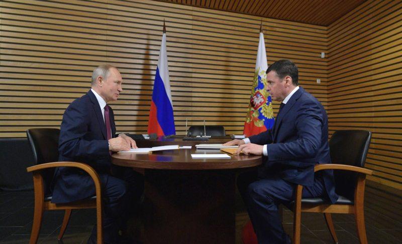 Миронов рассказал Путину о достижениях региона. В промышленности, сельском хозяйстве и строительстве