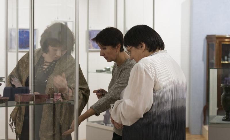 «Каменная красота природы»: в Рыбинске открылась выставка минералов. Фоторепортаж