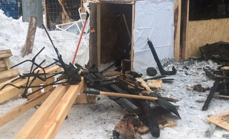 Пожар в пункте проката коньков: возбуждено уголовное дело