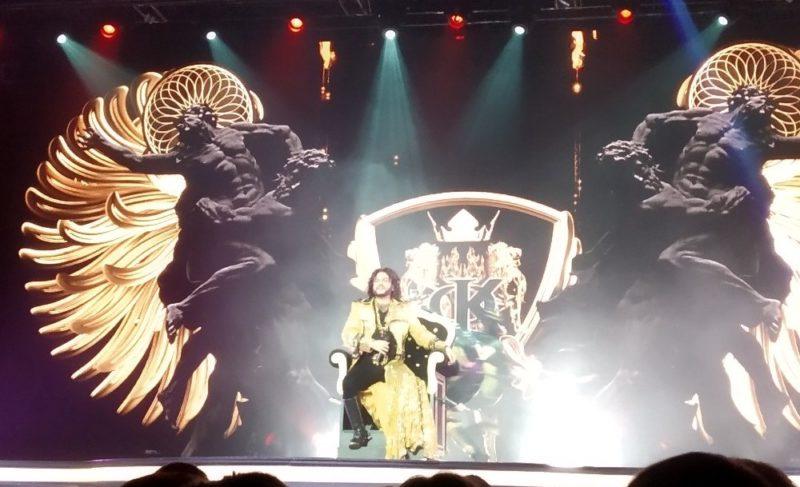 Филипп Киркоров привёз в Рыбинск новое шоу. Подборка фото и видео из соцсетей