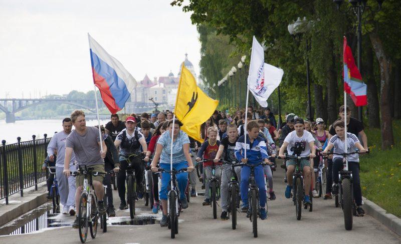 Рыбинск присоединился к всероссийскому дню велопарадов. Фоторепортаж Александры Кузнецовой