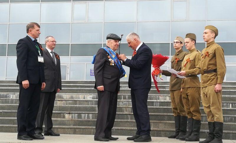 Рыбинск отмечает 74-ю годовщину Великой Победы. Фото