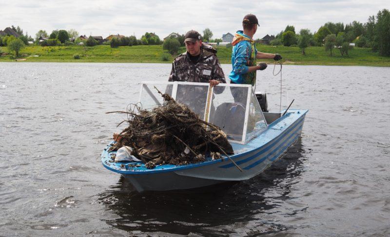 Спасённая стерлядь и бусы из ракушек: в Рыбинске прошёл турнир по вылову бесхозных сетей