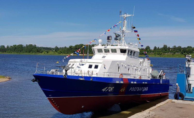 Катер специального назначения: в Рыбинске спустили на воду первого «Грачонка» для войск национальной гвардии