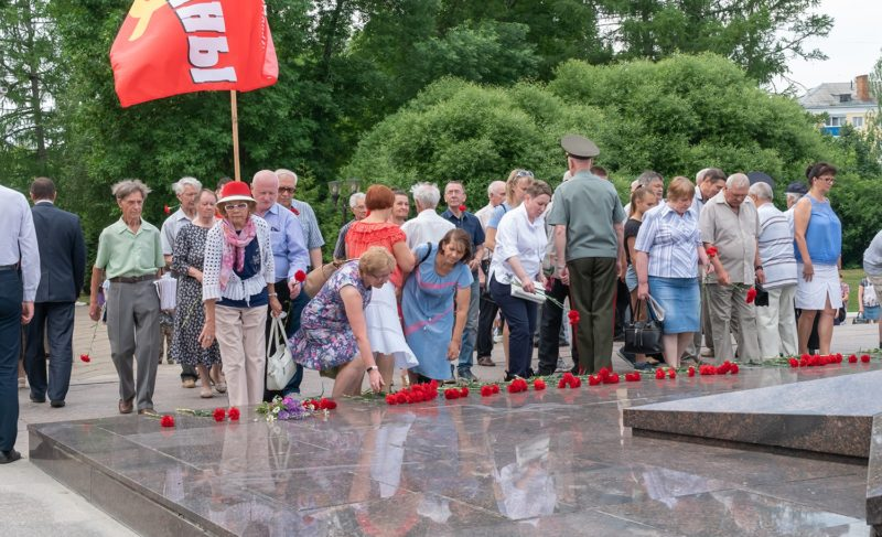 День памяти и скорби в Рыбинске. Фото