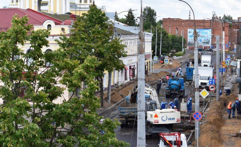 Какой станет Крестовая после ремонта и что будет с деревьями? Отвечают в администрации