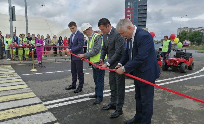 В Рыбинске торжественно открыли новую развязку на Расторгуева