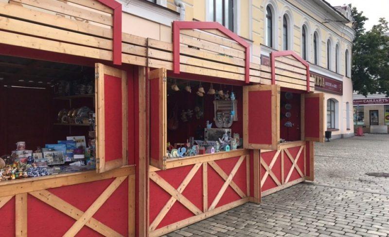 На Красной площади организовали ярмарку. Каков ассортимент товаров?