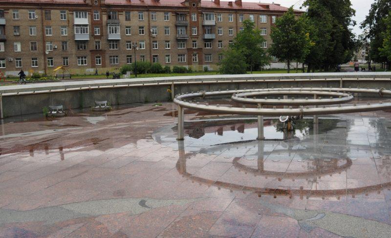 Фонтан на Димитрова должен заработать ко Дню города. Сколько потратят на его ремонт?