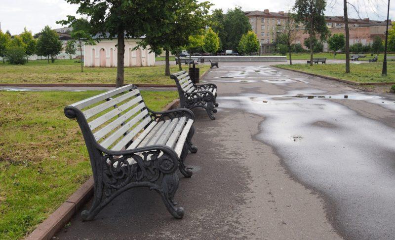 Разруха или цивилизация? В каком состоянии рыбинские парки: Димитровский