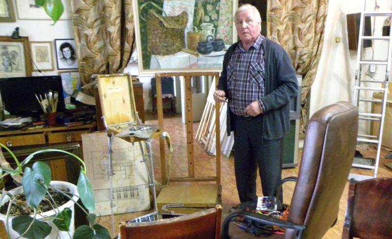Помещение, в котором находится мастерская художника Александра Жданова, снова попытаются продать