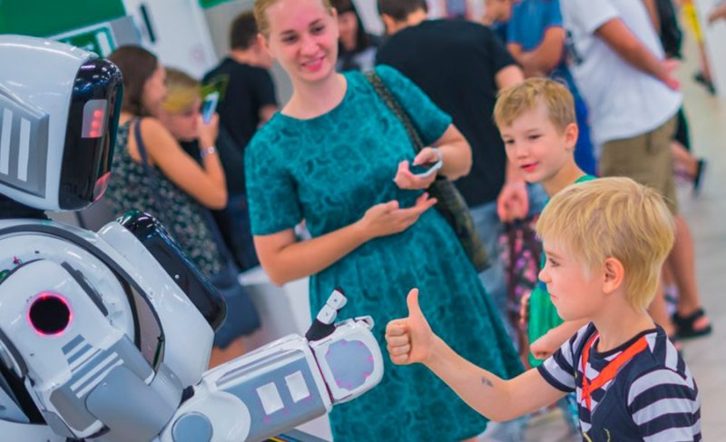Роботы едут в Рыбинск. До открытия выставки билеты можно купить со скидкой