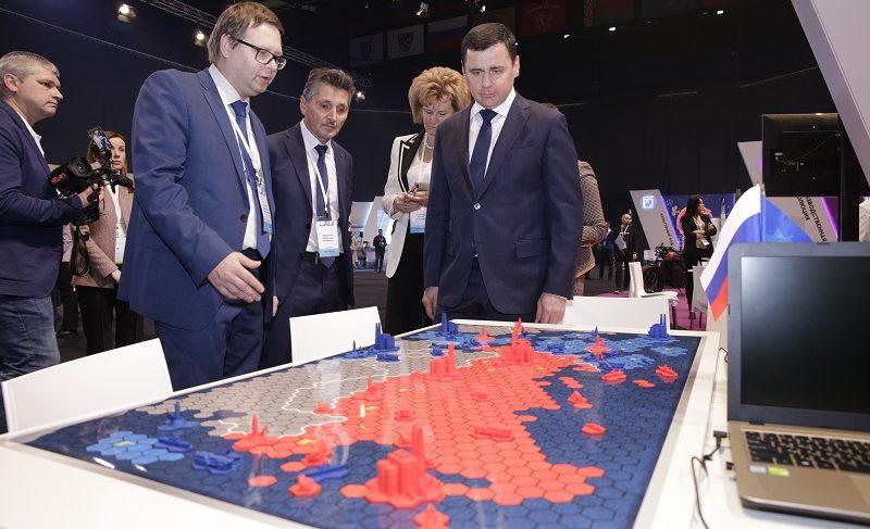 В Ярославле дали старт форуму профориентации «ПроеКТОриЯ». Губернатор принял участие в открытии