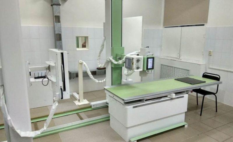 В рыбинском травмпункте установили новый рентген-аппарат. Помог нацпроект