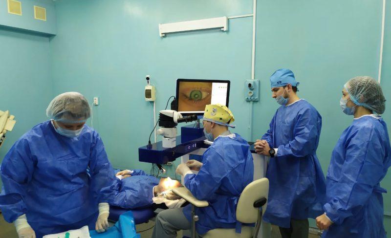Офтальмологическую установку, выпущенную на «РЗП», опробовали в сложных условиях