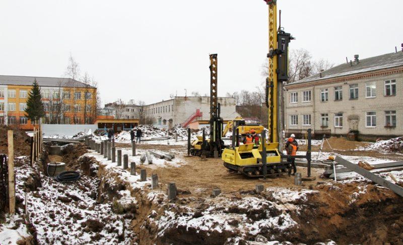 Правительство региона: объёмы строительства соцобъектов растут. В Рыбинске начали строить два ясельных корпуса