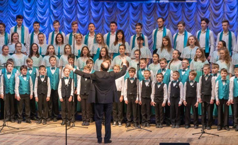 В Рыбинске прошёл традиционный хоровой фестиваль имени Соколова. Фоторепортаж с закрытия