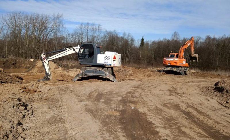Новый случай незаконной добычи песка под Рыбинском. Проводится административное расследование