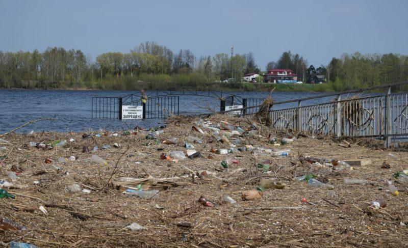 Последствия большой воды. Фоторепортаж сВолжской набережной