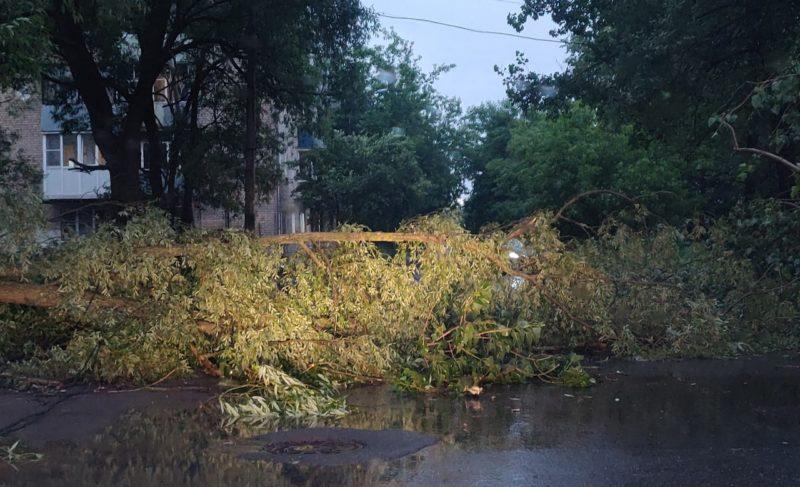 Июльская гроза в Рыбинске и её последствия. Подборка фото и видео из соцсетей